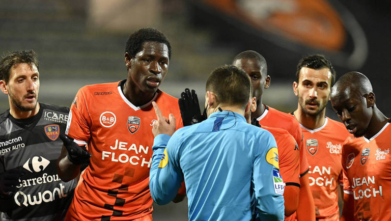 FC Lorient: Sidy Sarr écope 3 matches de suspension