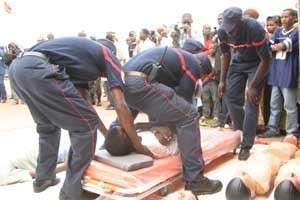 Kaolack : 2 morts et une dizaine de blessés dans un accident de la circulation