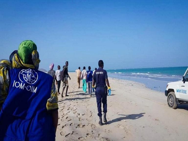 Des centaines de migrants traversent Djibouti chaque jour pour gagner le Yémen