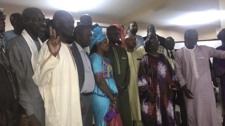 Boubacar Camara et Dr Cheikh Tidiane Dieye dans le directoire de campagne Sonko