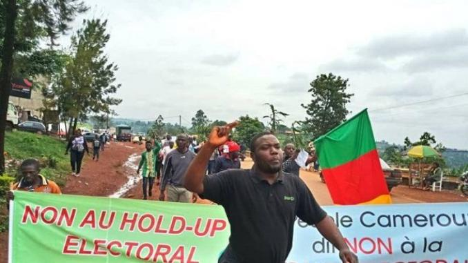 Cameroun: l'opposition annule des manifestations prévues ce samedi (dirigeant)