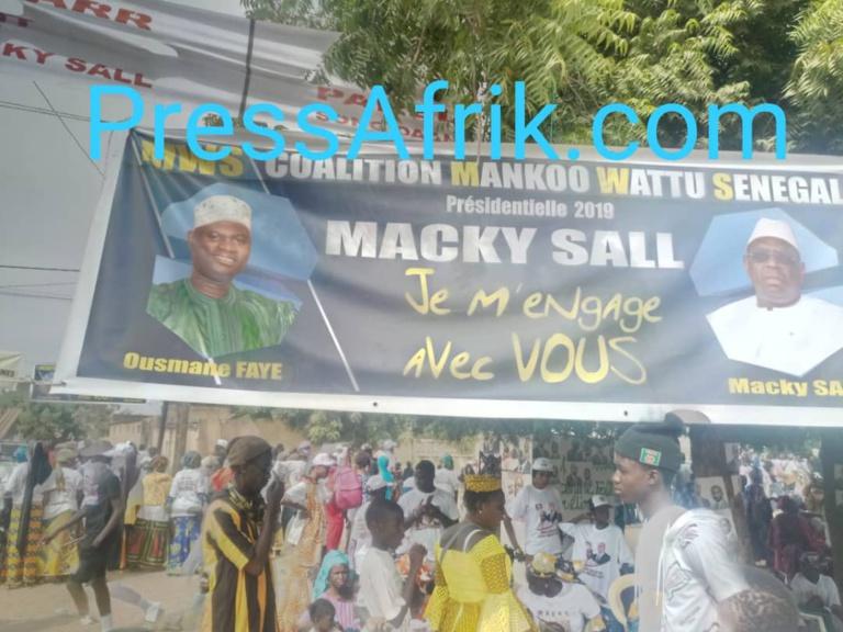 Direct-Mbacké: La guerre des banderoles fait rage