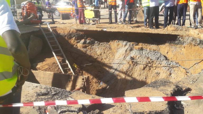 Coupure d'eau à Dakar: les techniciens de la SDE à pied d'œuvre pour rétablir la situation