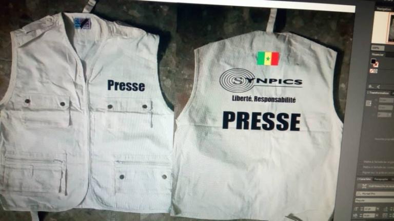 Couverture campagne électorale: Le Synpics va procéder à la distribution des Gilets presse ce lundi