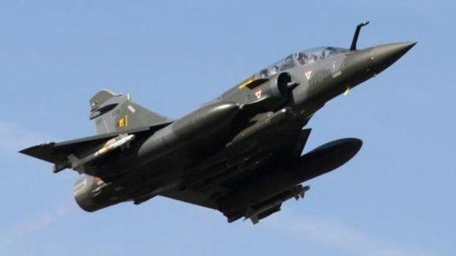 Des frappes aériennes de l'armée française au Tchad