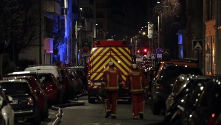 France: incendie meurtrier dans un immeuble du XVIe arrondissement de Paris