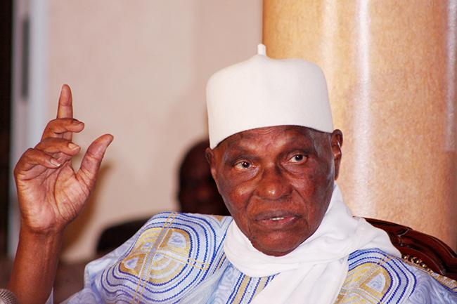 """Abdoulaye Wade affirme: """"Nous avons décidé de nous opposer à la tenue d'une élection"""