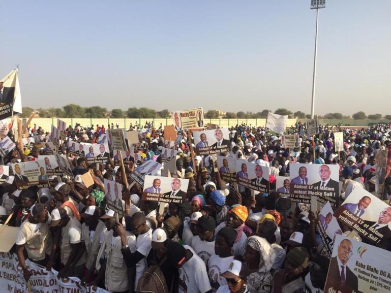 Macky Sall: «Si un candidat va à Matam il doit me demander la permission car c'est mon titre foncier politique».