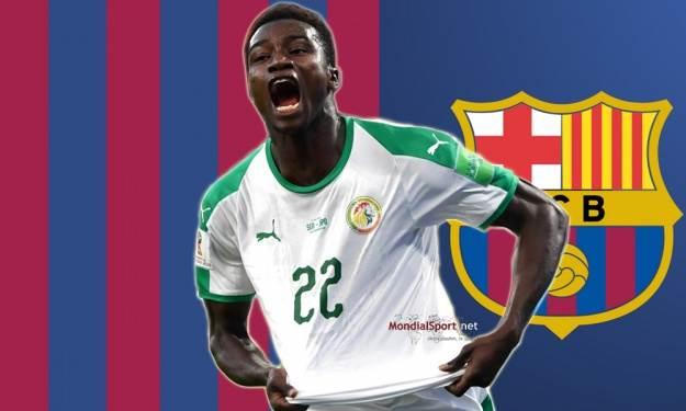 Moussa Wagué va jouer la LDC avec le Barça