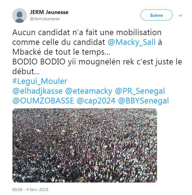 Images du meeting de Macky à Mbacké: AFP apporte les preuves de la tricherie