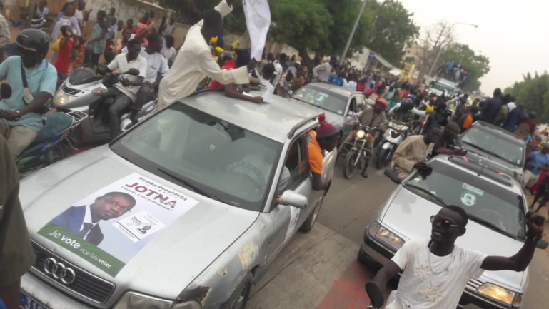 """Wade à Touba: """"Pastef les Patriotes"""" et la Coalition Idy 2019 à l'accueil"""