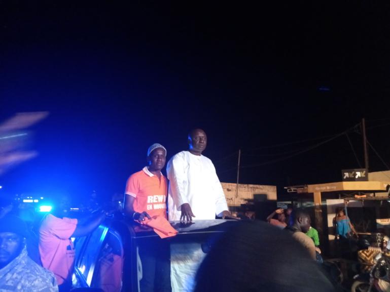 Depuis Koungheul, Idrissa Seck se réjouit du soutien de Khalifa Sall