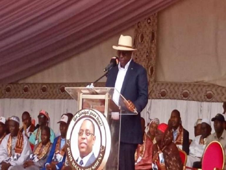 Présidentielle 2019 à Kédougou: Les piques assassines de Macky Sall à ses challengers