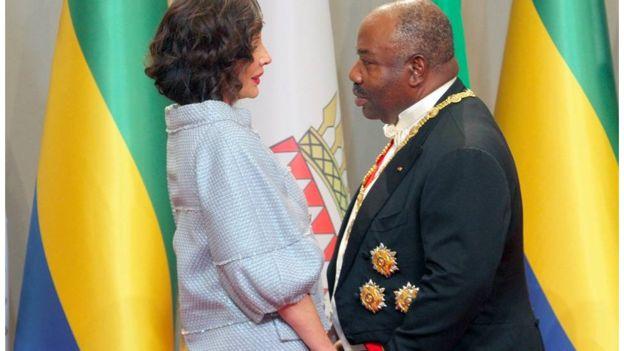 Le président gabonais a 60 ans