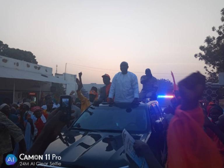 VIdéo - Koumpentoum accueille Idrissa Seck en grande pompe