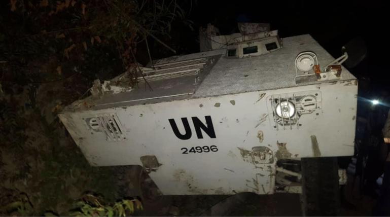 Accident d'un tank de l'ONU en Haïti: deux gendarmes sénégalais dans le coma