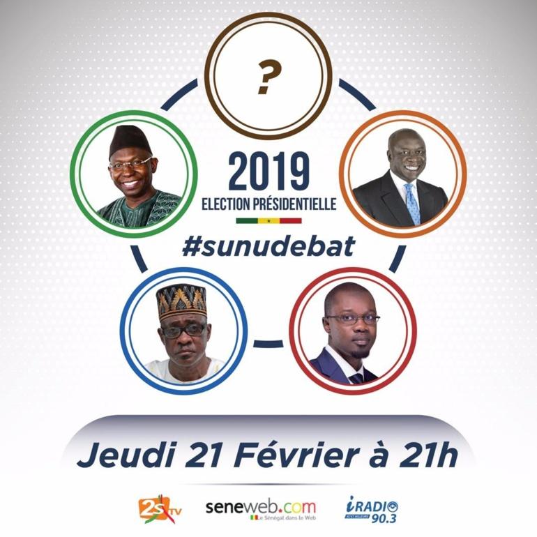 Le débat présidentiel aura lieu le 21 février à 21 heures...