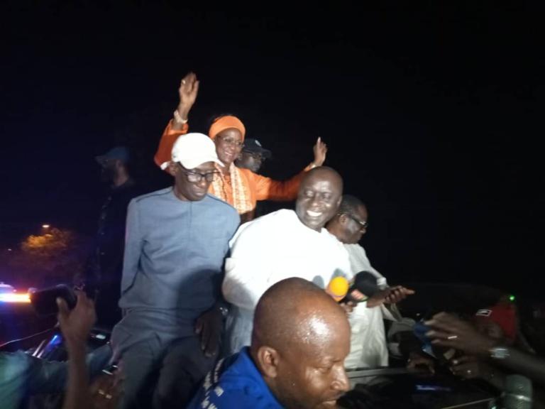 Vidéo - A Bignona, Idrissa Seck promet de transformer les bourses familiales en salaires