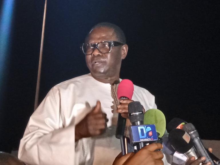 Sécurisation des élections: Pape Diop appelle la jeunesse de Ziguinchor à être vigilant le jour du scrutin