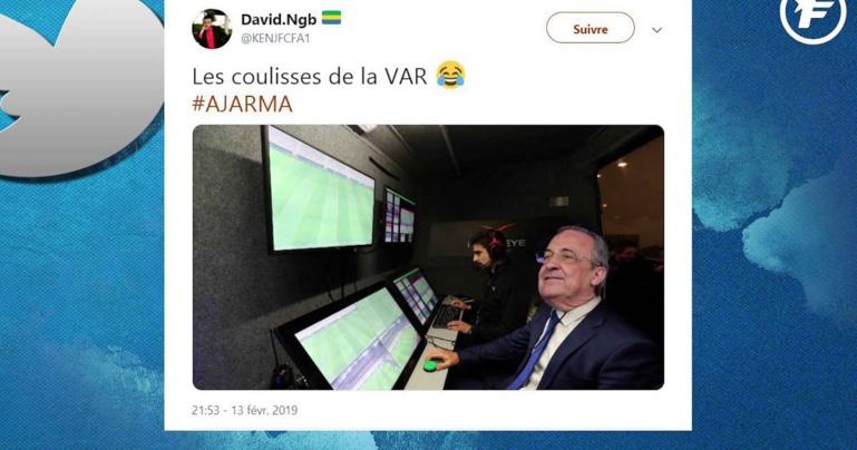 Twitter s'enflamme sur la VAR pro-Real Madrid