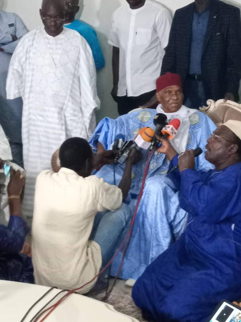 Abdoulaye Wade refuse de s'exprimer sur les mises en garde d'Aly Ngouille Ndiaye
