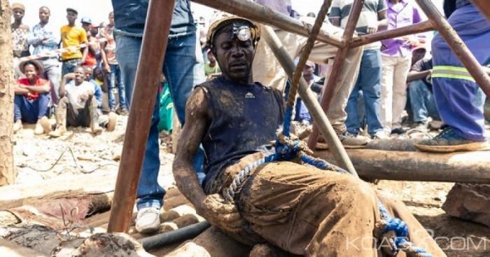 Zimbabwe: Plus de 60 mineurs clandestins meurent dans une mine d'or inondée