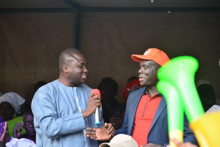 Malick Gackou annonce la décision de Bamba Fall bien avant lui devant les militants