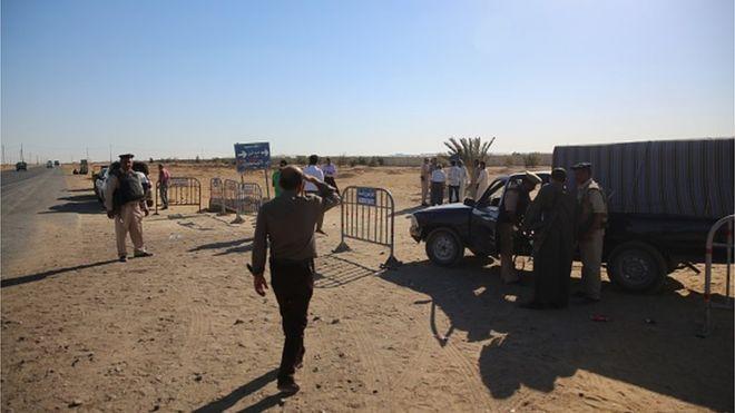 Sept combattants de l'Etat islamique présumés tués en Egypte
