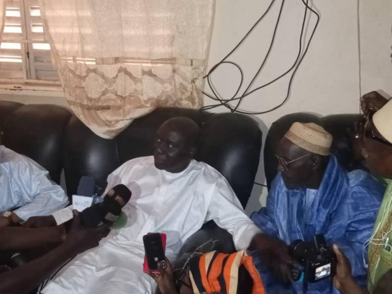 Kébémer: Idrissa Seck reçu par l'ancien Sénateur Maissa Ndiaye
