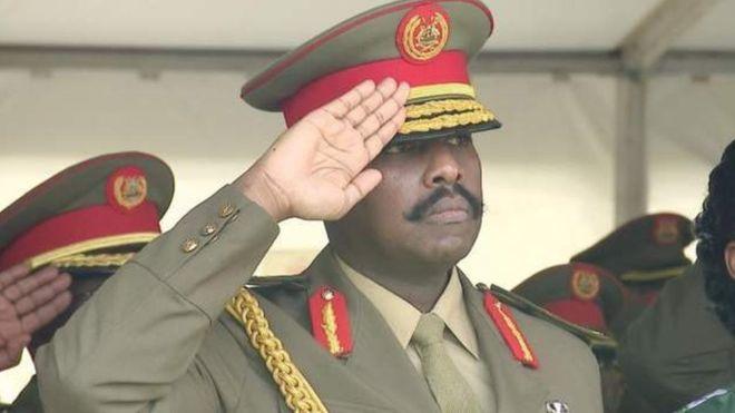 Le fils de Museveni devient N° 2 de l'armée