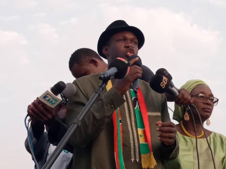 A Richard-Toll, Sonko s'engage à restaurer la souveraineté économique du Sénégal