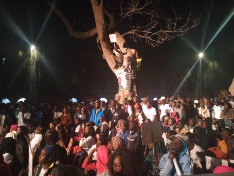 "Sonko à l'UGB: ""Macky, Aliou Sall et Aly Ngouille Ndiaye seront poursuivis pour haute trahison"""