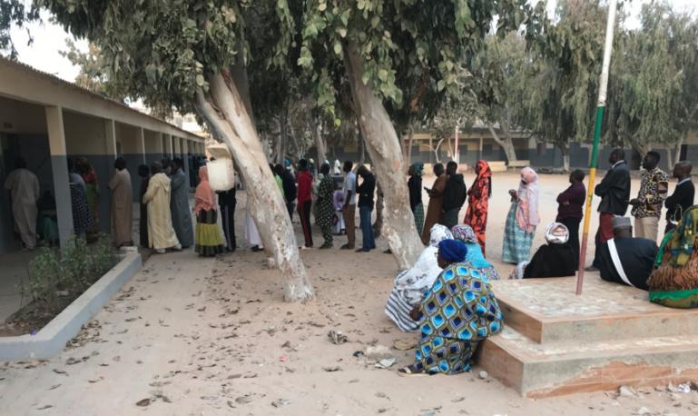 #Scrutin24février2019 - Guédiawaye: Le taux de participation avoisine 35%