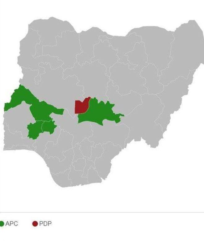 Au Nigeria, Buhari en avance dans cinq Etats