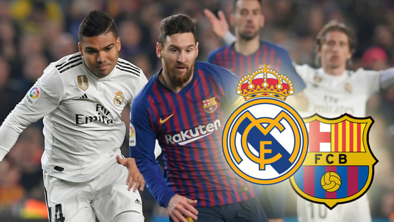 Real Madrid - FC Barcelone : les compositions probables