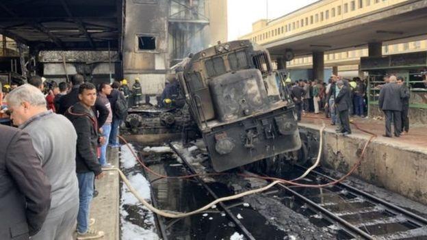 Un accident au Caire : au moins 25 personnes tuées et 50 blessées