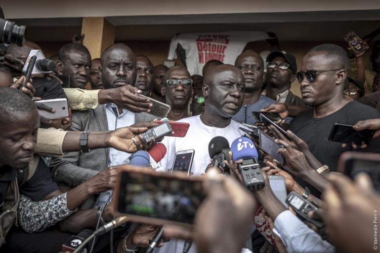 La coalition Idy 2019 dénonce les arrestations de ses responsables et menace de répliquer