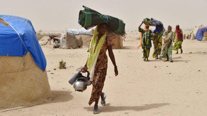 Les réfugiés nigérians forcés de partir du Cameroun