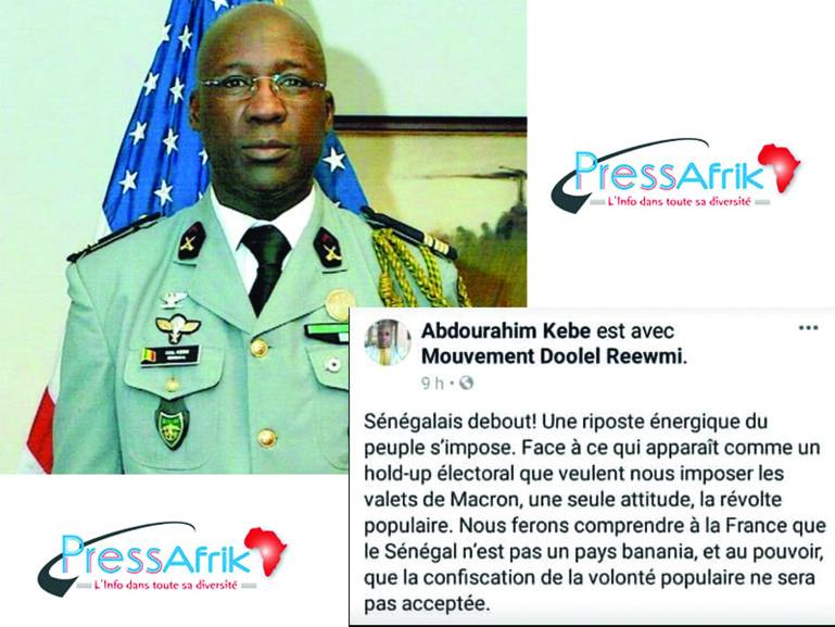 Arrestation du Colonel Abdourahim Kébé à Saint-Louis: L'audition se poursuit