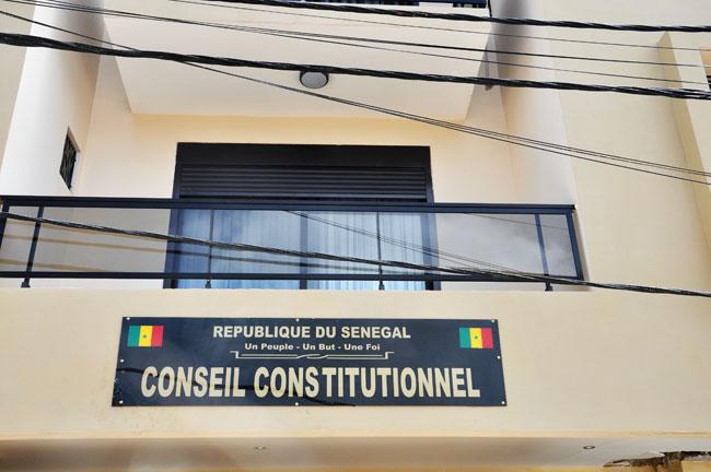 Le Conseil constitutionnel proclame les résultats définitifs de la Présidentielle ce mardi