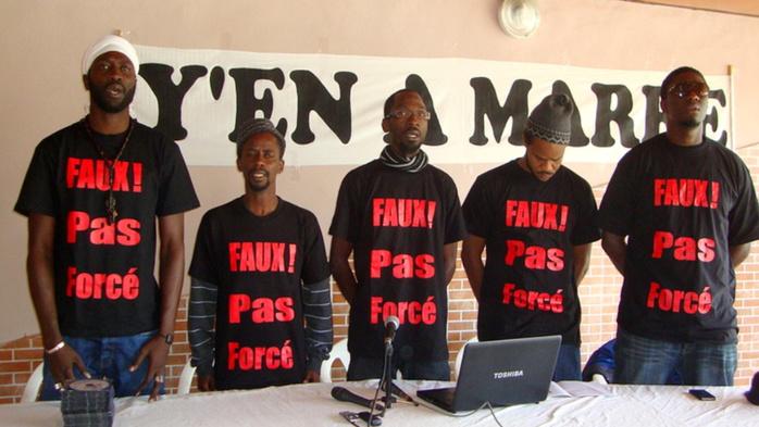 """Présidentielle 2019 : """"Y'en a marre"""" appelle le peuple à exiger de vraies réformes à Macky Sall"""