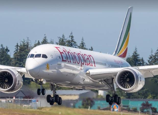 URGENT - Un avion d'Ethiopian Airlines s'ecrase avec 157 personnes à son bord