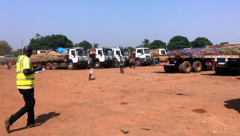 RCA: après plusieurs jours de blocage, un convoi de camions arrive du Cameroun