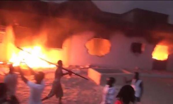 Violent incendie à Kaffrine : plus de 30 cases réduites en cendres et d'autres dégâts matériels