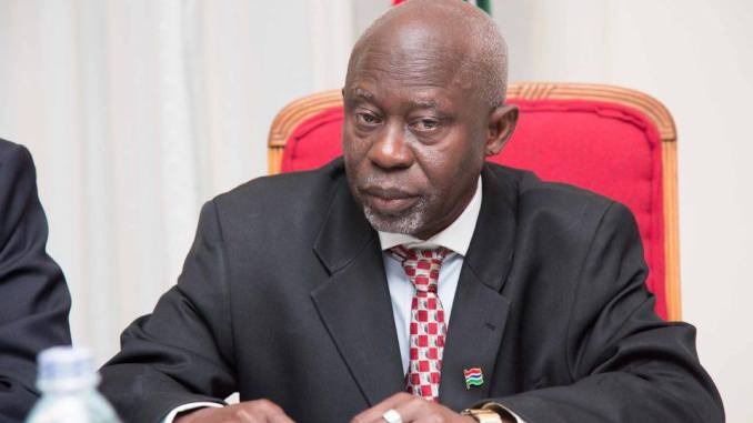 Gambie: le Vice-président Ousainou Darboe limogé