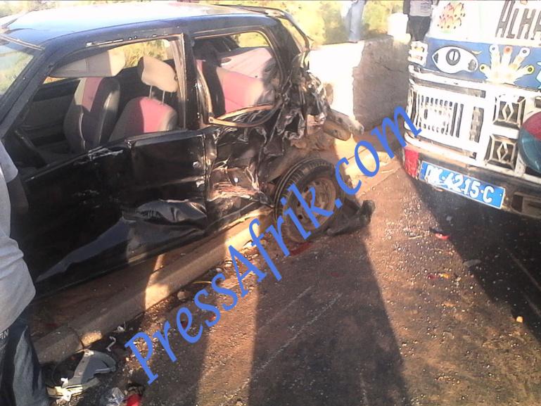 Thiès : un accident de la circulation fait 6 morts