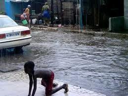 Marché Kheulgueu de Thiès: Des cantines emportées par les eaux de pluies