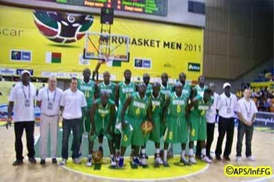 Afrobasket: Les Lions déroulent devant le Tchad (92-54)