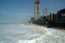 Rufisque : Les inondations provoquent une avancée de la mer