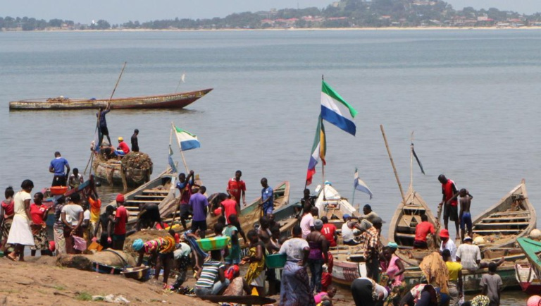 La pêche industrielle interdite pour un mois en Sierra Leone
